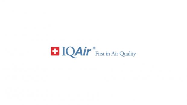 IQ Air's logo on white background