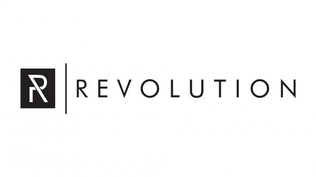 Revolution Drums logo on white background